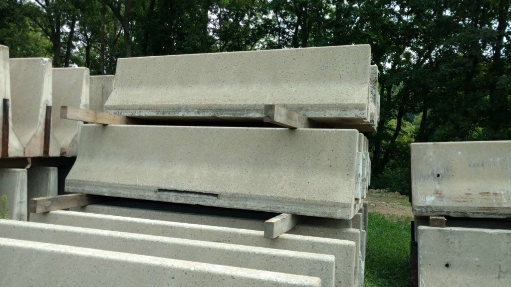 ′ concrete jersey barrier precast barriers