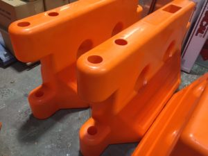 ATM 590 New Orange - barriers for perimeter protection