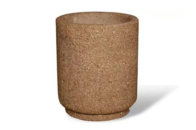 26D x 30H Round Concrete Planter