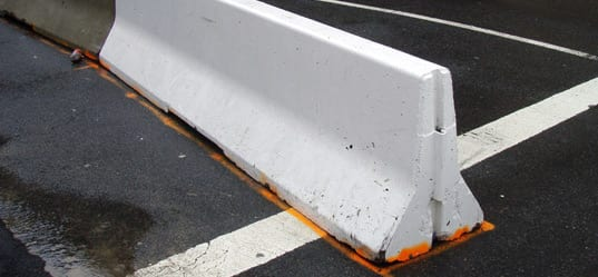 How Concrete Jersey Barriers Are Used For Traffic Safety