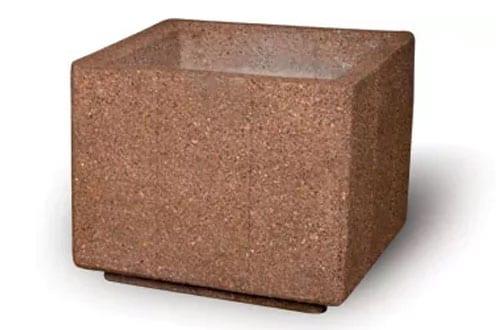 36D x 30H Square Concrete Planter