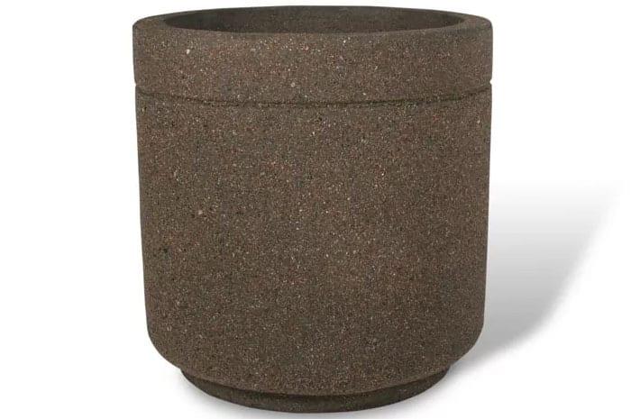 36D x 36H Round Concrete Planter