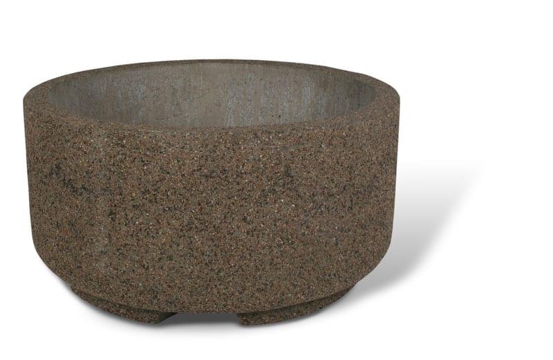 48D x 24H Round Concrete Planter