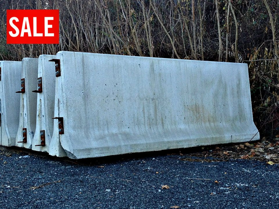 Concrete Bin Block | | 48 Barriers | Stackable Concrete Blocks