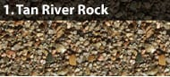 Tan River Rock