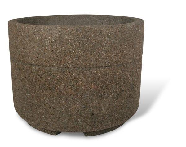 48D x 36H Round Concrete Planter