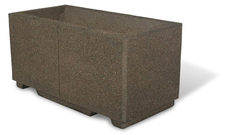 Security Planter Barricade 48L x 24W x 24H