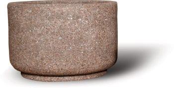 36D x 24H Round Concrete Planter