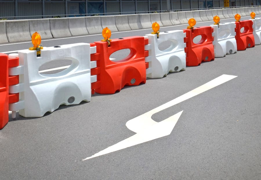 Five Popular Uses of Traffic Barriers