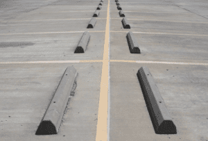 The Top Three Benefits of Parking Lot Barriers