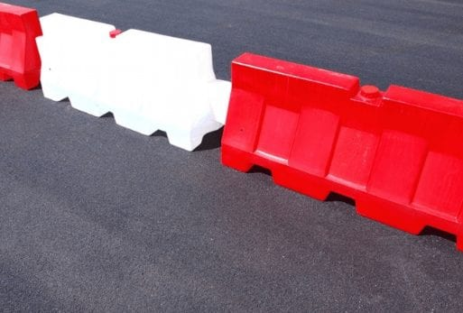 Concrete Barriers vs. Plastic Barriers
