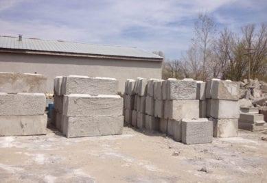 Concrete Bin Block | | 48 Barriers | Stackable Concrete Blocks