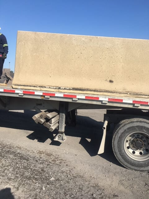 52″ High Used Barrier