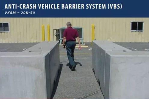 Anti-Crash Vehicle Barrier System