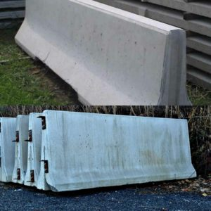 Concrete K-Rail and Jersey Barriers: Do you deliver?