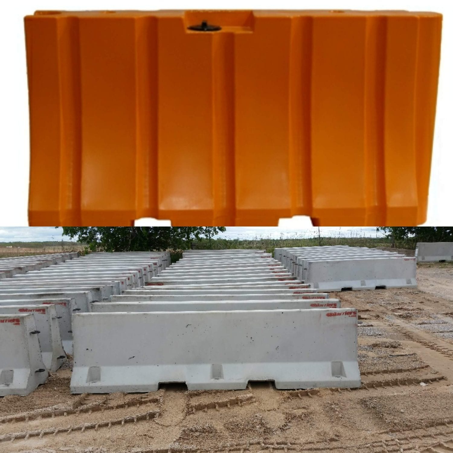 Plastic Water Filled Barrier vs. Concrete Jersey Barrier: Pros & Cons