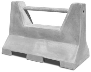 Mini 4′ Concrete Traffic Barrier